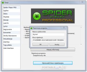 Spider_Player_rejestracja_1