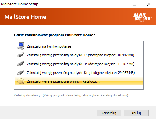 mailstore home 11 0 2 portable programy portable